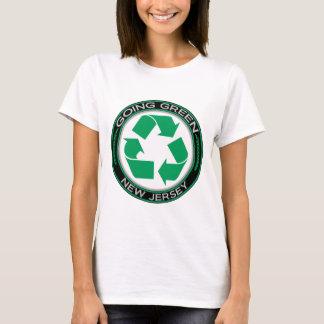 Gaand Groen Recyclen New Jersey T Shirt