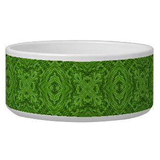 Gaande Groene Vintage Caleidoscoop Voerbakje