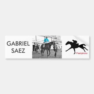 Gabriel Saez-Foxhall Drive Bumpersticker