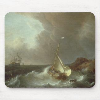 Galjoen in Stormachtige Zeeen Muismat