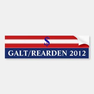 Galt/Rearden 2012 Bumpersticker
