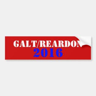 Galt Reardon 2016 Bumpersticker