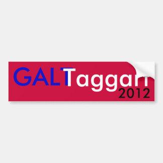 Galt Taggart 2012 Bumpersticker