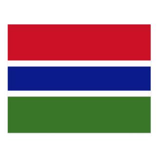 Gambia, Gabon Briefkaart