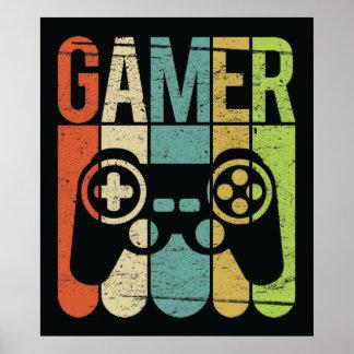 Gamer (het Controlemechanisme van het Spel) Poster