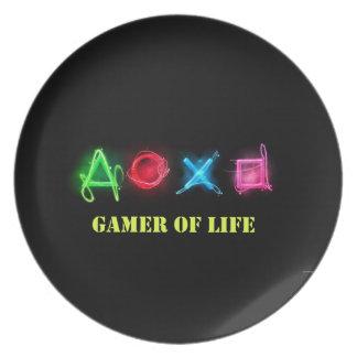Gamer van het leven bord