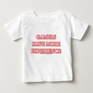 Gamers heeft Meer Ervaring Baby T Shirts