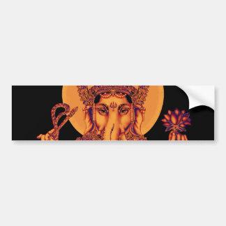 Ganesh - Vlekkenmiddel van Hindernissen Bumpersticker