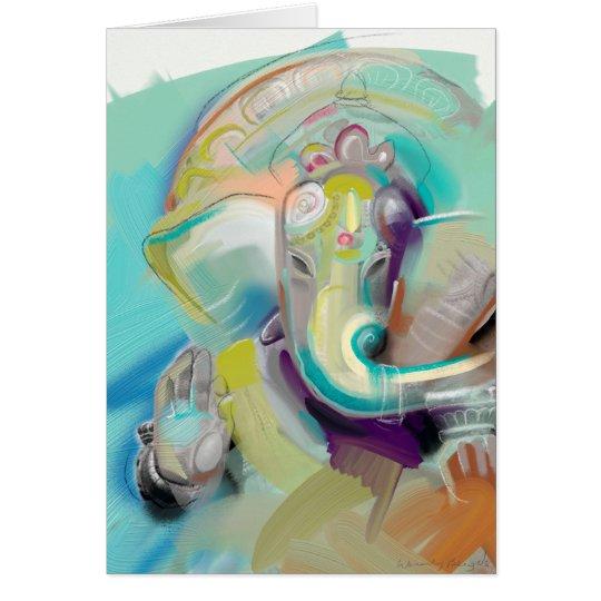 Ganesha Briefkaarten 0