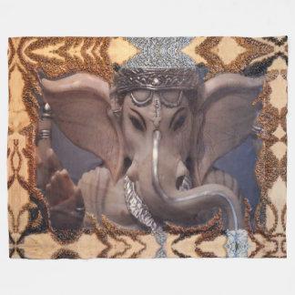 Ganesha Fleece Deken