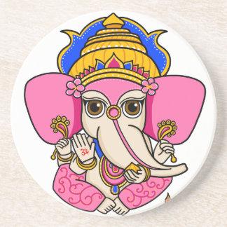 Ganesha Zandsteen Onderzetter