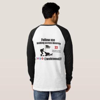 Gang aan Eind 22 raglan overhemd T Shirt