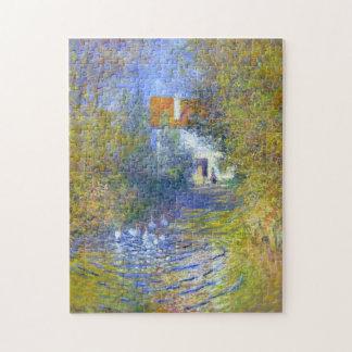 Ganzen in het Fijne Art. van Claude Monet van de Foto Puzzels