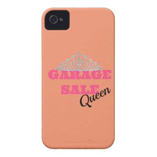 Garage sale Koningin Line iPhone 4 Hoesje