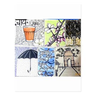 Garam Chai Briefkaart