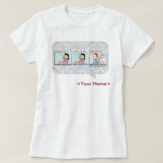 GARFIELD het dagelijkse Ontwerp van het Stripverha T Shirt