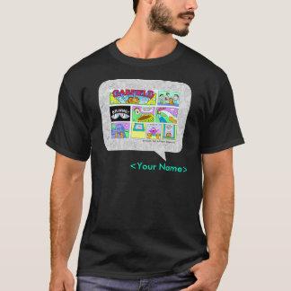 GARFIELD het Ontwerp van het Stripverhaal van de z T Shirt
