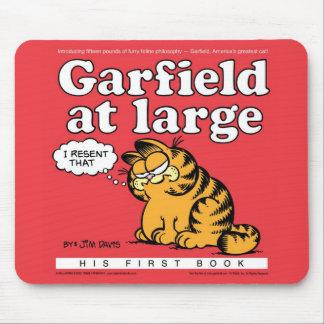 Garfield in Grote Mousepad Muismatten