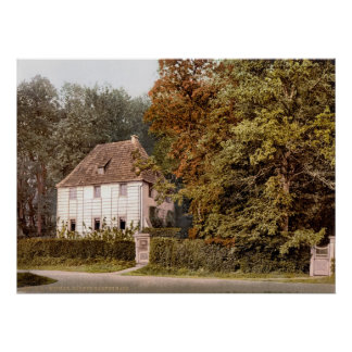 Gartenhaus van Goethe Poster