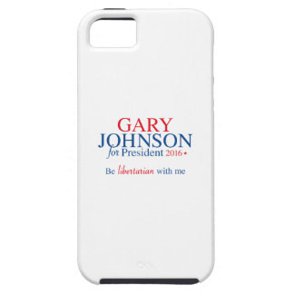 Gary Johnson 2016 Tough iPhone 5 Hoesje