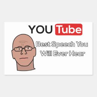 Gary Yourofsky de Stickers van de Toespraak