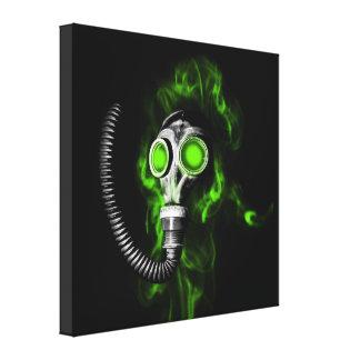 Gasmasker Canvas Afdrukken