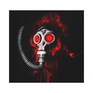 Gasmasker Canvas Print