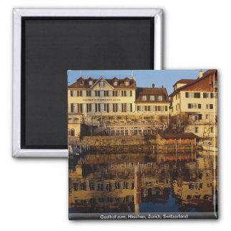 Gasthof zum, Hirschen, Zürich, Zwitserland Magneet
