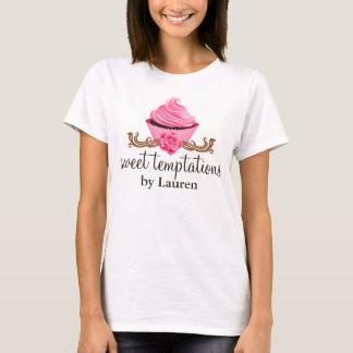 Gastronomische Bakkerij Cupcake T Shirt