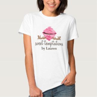 Gastronomische Bakkerij Cupcake T-shirts