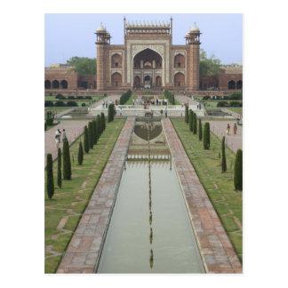 Gateway aan Taj Mahal, India Briefkaart