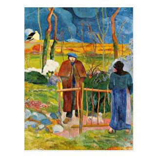 Gauguin - Bonjour, Monsieur Gauguin Briefkaart