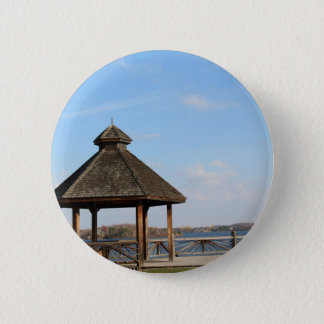 Gazebo over Meer Ronde Button 5,7 Cm