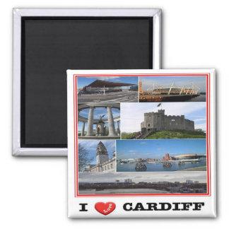 GB - Bewoners van Wales - Cardiff - de Liefde van Magneet
