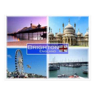 GB het Verenigd Koninkrijk - Engeland - Brighton - Briefkaart