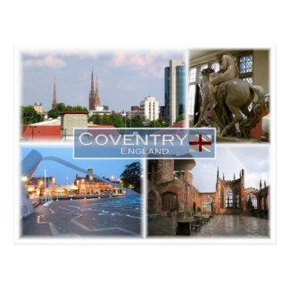 GB het Verenigd Koninkrijk - Engeland - Coventry - Briefkaart