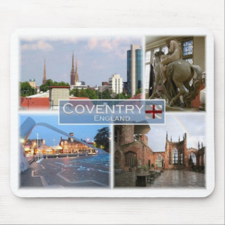 GB het Verenigd Koninkrijk - Engeland - Coventry - Muismatten