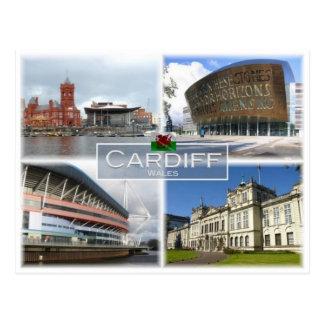 GB het Verenigd Koninkrijk - Wales - Cardiff - Briefkaart