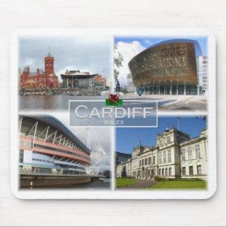 GB het Verenigd Koninkrijk - Wales - Cardiff - Muismat