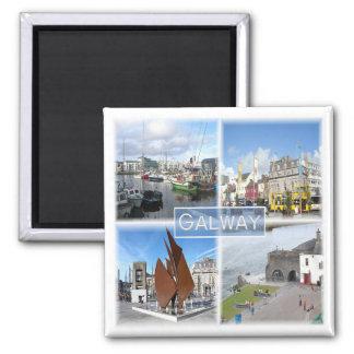 GB * Noord-Ierland - Galway Vierkante Magneet