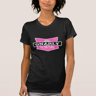 GC | Klantgerichte | Gnarly door de Roze Zwarte T Shirt