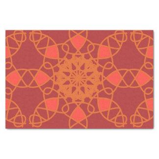 geabstraheerd 25,4 x 38,1 cm zijdepapier