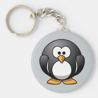 Geanimeerde Pinguïn keychain Sleutelhanger