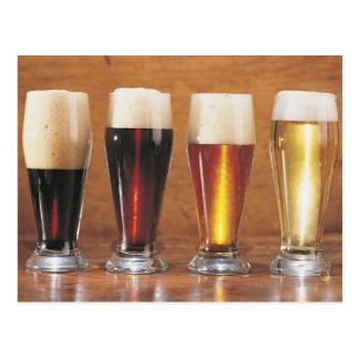 Geassorteerd bieren en aal briefkaart