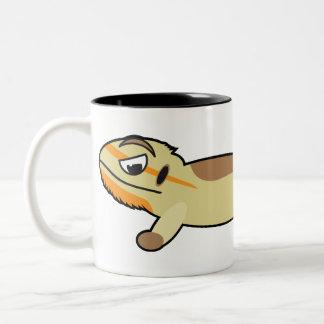 Gebaarde Draak Tweekleurige Koffiemok
