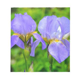 Gebaarde Iris Notitieblok