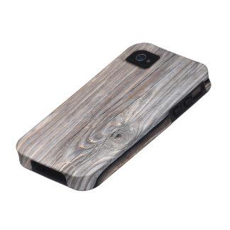 Gebarsten Houten iPhone 4 Geval
