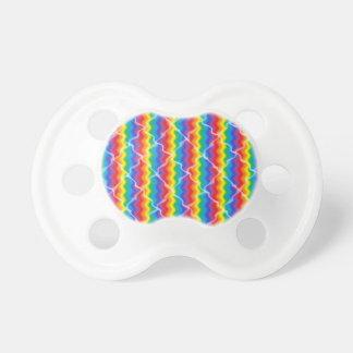 Gebarsten Regenboog Baby Speentjes