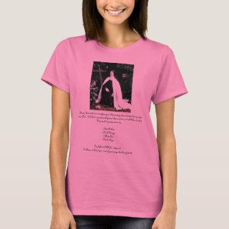 """Gebed aan St. Therese"" Theresa Hartman T Shirt"