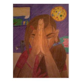 gebed briefkaart